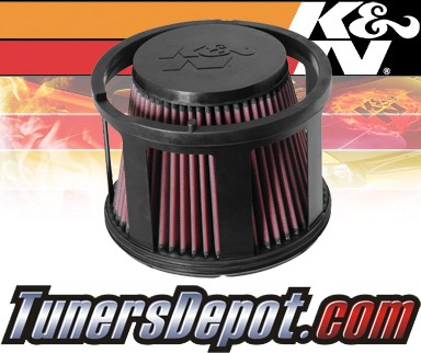 K&N® Drop in Air Filter Replacement - 05-10 GMC Sierra 2500 HD 6.6L V8 Diesel