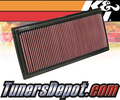 K&N® Drop in Air Filter Replacement - 05-10 Nissan Frontier 2.5L 4cyl