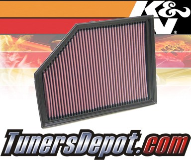 K&N® Drop in Air Filter Replacement - 05-10 Volvo XC90 4.4L V8