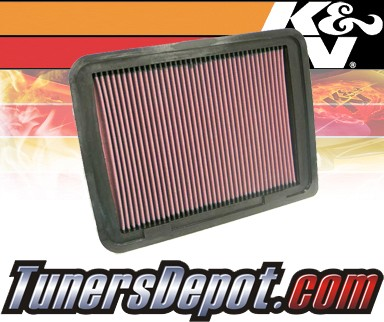 K&N® Drop in Air Filter Replacement - 05-12 Toyota Tacoma 2.7L 4cyl