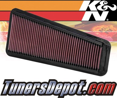 K&N® Drop in Air Filter Replacement - 05-12 Toyota Tacoma 4.0L V6