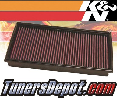 K&N® Drop in Air Filter Replacement - 06-06 BMW 750Li E65 4.8L V8