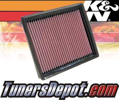 K&N® Drop in Air Filter Replacement - 06-06 Lincoln Zephyr 3.0L V6