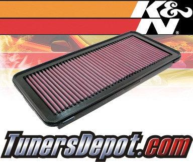 K&N® Drop in Air Filter Replacement - 06-07 Ford F450 F-450 6.8L V10