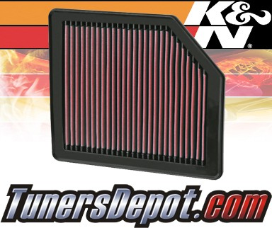 K&N® Drop in Air Filter Replacement - 06-07 Hyundai Veracruz 3.0L V6 Diesel