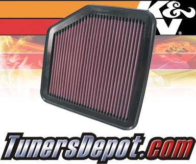 K&N® Drop in Air Filter Replacement - 06-07 Lexus GS430 4.3L V8