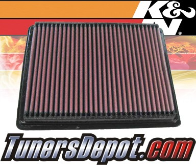 K&N® Drop in Air Filter Replacement - 06-07 Pontiac Montana 3.9L V6