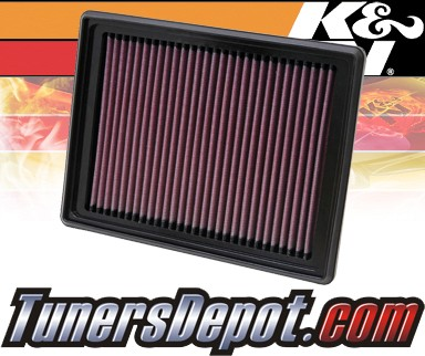 K&N® Drop in Air Filter Replacement - 06-07 Saturn Relay 3.9L V6