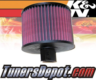 K&N® Drop in Air Filter Replacement - 06-08 BMW 325i E91 2.5L L6