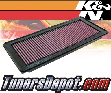 K&N® Drop in Air Filter Replacement - 06-08 Mercury Mariner Hybrid 2.3L 4cyl