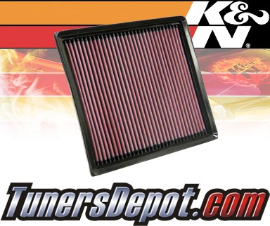 K&N® Drop in Air Filter Replacement - 06-09 Chevy Impala 5.3L V8