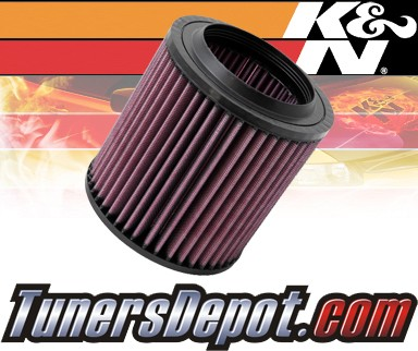 K&N® Drop in Air Filter Replacement - 06-10 Audi S8 5.2L V10