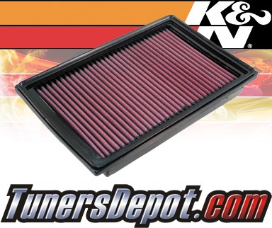 K&N® Drop in Air Filter Replacement - 06-10 Chrysler PT Cruiser 2.4L 4cyl