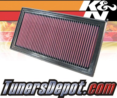 K&N® Drop in Air Filter Replacement - 06-10 Dodge Caliber 1.8L 4cyl