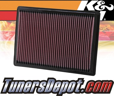 K&N® Drop in Air Filter Replacement - 06-10 Dodge Charger 6.1L V8