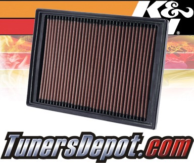 K&N® Drop in Air Filter Replacement - 06-10 Land Rover Freelander 3.2L V6