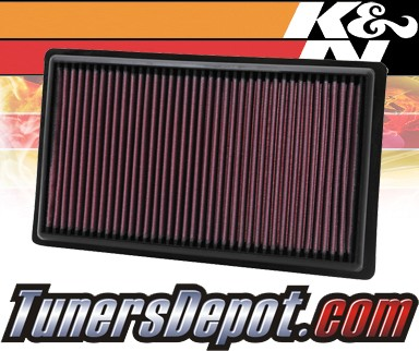 K&N® Drop in Air Filter Replacement - 06-10 Mercury Mountaineer 4.0L V6