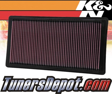 K&N® Drop in Air Filter Replacement - 06-10 Mercury Mountaineer 4.6L V8