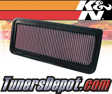 K&N® Drop in Air Filter Replacement - 06-10 Toyota Highlander Hybrid 3.3L V6