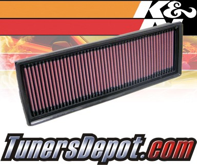 K&N® Drop in Air Filter Replacement - 06-11 Chevy HHR 2.4L 4cyl
