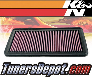 K&N® Drop in Air Filter Replacement - 06-11 Kia Sedona 3.8L V6