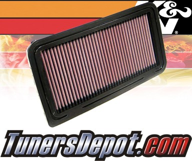 K&N® Drop in Air Filter Replacement - 06-12 Mazda Miata MX-5 MX5 2.0L 4cyl