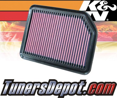 K&N® Drop in Air Filter Replacement - 06-12 Suzuki Grand Vitara 1.6L 4cyl
