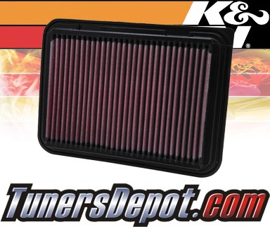K&N® Drop in Air Filter Replacement - 06-12 Toyota Yaris 1.5L 4cyl