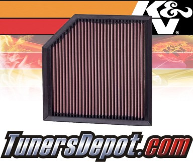 K&N® Drop in Air Filter Replacement - 06-13 Volvo XC90 3.2L L6