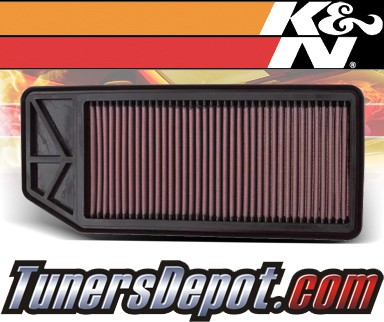 K&N® Drop in Air Filter Replacement - 07-08 Acura TL 3.5 3.5L V6