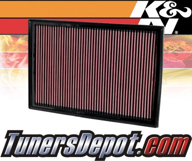 K&N® Drop in Air Filter Replacement - 07-08 BMW X5 E70 3.0L L6