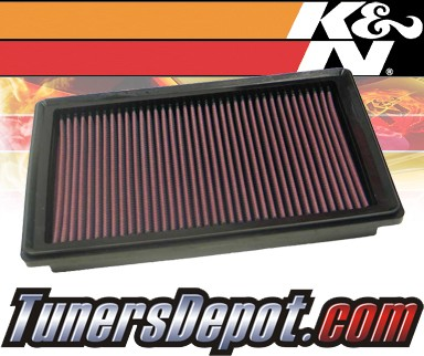K&N® Drop in Air Filter Replacement - 07-08 Chevy Malibu 3.5L V6