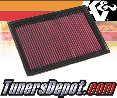 K&N® Drop in Air Filter Replacement - 07-08 Mazda 3 2.0L 4cyl Diesel