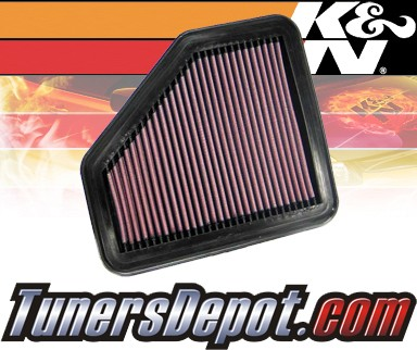 K&N® Drop in Air Filter Replacement - 07-08 Pontiac G5 2.4L 4cyl