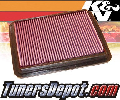K&N® Drop in Air Filter Replacement - 07-08 Saturn Aura 3.5L V6
