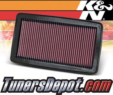 K&N® Drop in Air Filter Replacement - 07-09 Acura MDX 3.7L V6