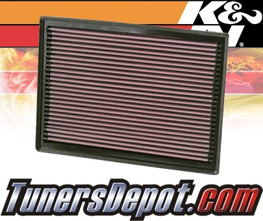 K&N® Drop in Air Filter Replacement - 07-09 Dodge Sprinter 2500 3.5L V6
