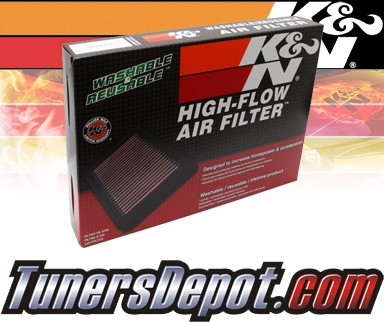 K&N® Drop in Air Filter Replacement - 07-09 Ford Mustang Shelby 5.4L V8