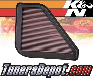 K&N® Drop in Air Filter Replacement - 07-09 Saturn Outlook 3.6L V6