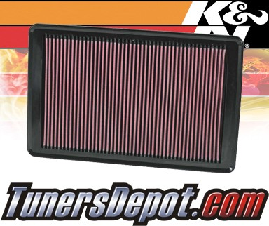K&N® Drop in Air Filter Replacement - 07-09 Saturn Sky 2.0L 4cyl