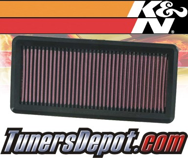 K&N® Drop in Air Filter Replacement - 07-09 Suzuki SX-4 SX4 2.0L 4cyl