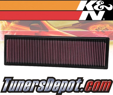 K&N® Drop in Air Filter Replacement - 07-09 Volkswagen VW Rabbit 2.5L L5