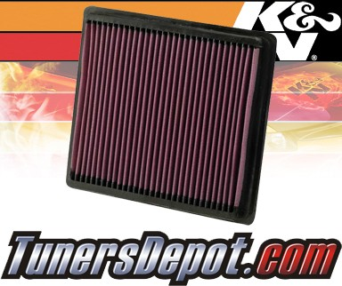 K&N® Drop in Air Filter Replacement - 07-10 Dodge Avenger 2.0L 4cyl Diesel