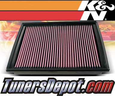 K&N® Drop in Air Filter Replacement - 07-10 Dodge Nitro 2.0L 4cyl Diesel