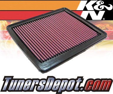 K&N® Drop in Air Filter Replacement - 07-10 Hyundai Azera 3.3L V6
