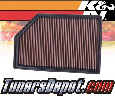 K&N® Drop in Air Filter Replacement - 07-10 Volvo S80 4.4L V8