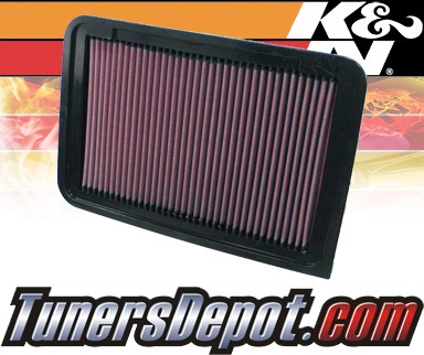 K&N® Drop in Air Filter Replacement - 07-11 Toyota Camry 2.4L 4cyl