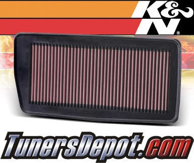 K&N® Drop in Air Filter Replacement - 07-12 Acura RDX 2.3L 4cyl