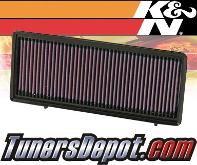 K&N® Drop in Air Filter Replacement - 07-12 Nissan Altima 2.5L 4cyl