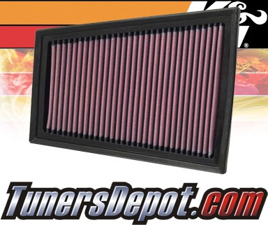 K&N® Drop in Air Filter Replacement - 07-12 Nissan Sentra 2.0L 4cyl